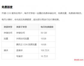 脚本远程备份网站数据到免费的腾讯云COS对象存储