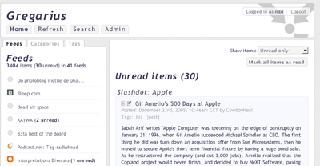 gregarius多站点RSS聚合工具汉化PHP版