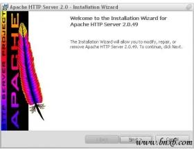 Apache服务器的安装教程(1)