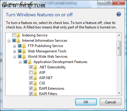Enabling FastCGI support for IIS7 on Windows Vista SP1 and Windows 7