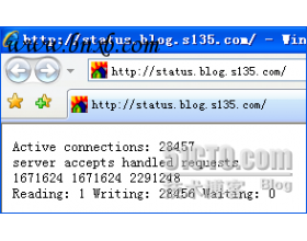 Nginx0.5.33+PHP5.2.5(FastCGI)搭建胜过Apache10倍的Web服务器