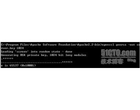 详解 Windows下apache 实现 SSL