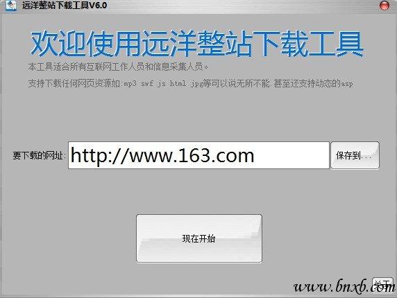 远洋整站下载工具 V5.0可下载整站FLASH\AJAX加载内