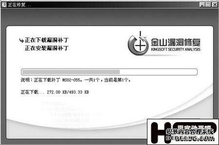 网镖系统漏洞修复 轻松备份安全补丁