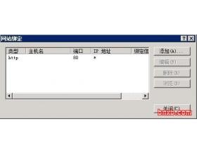 IIS7/IIS7.5 二级域名伪静态设置方法