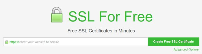 利用SSL For Free工具快速部署应用Let's Encrypt免费SSL证书