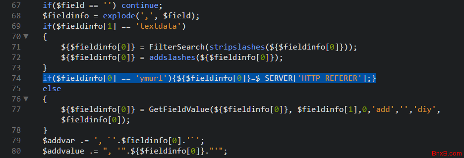 DEDE自定义表单留言功能带上提交页面的url信息