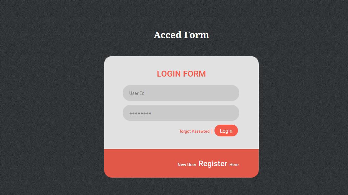 后台登陆页HTML5网页模板