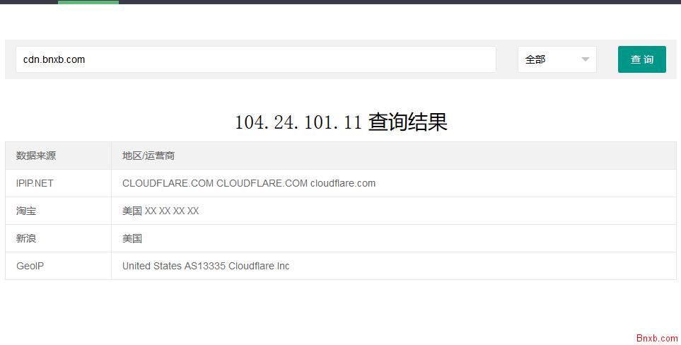 整合多接口的IP查询工具PHP源码