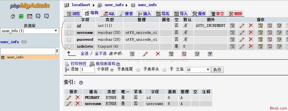 PHP+MYSQL实现注册登录修改密码等网页操作